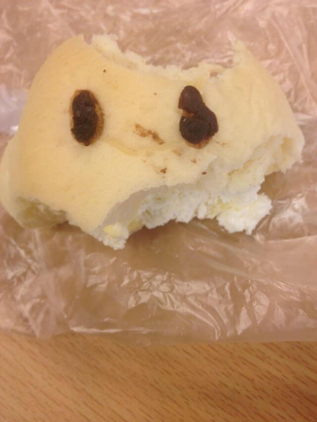 口も食べられたWAONパン