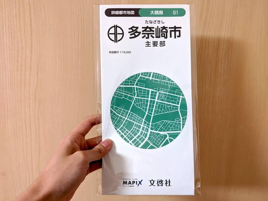 多奈崎市  - 主要部地図 1:10,000