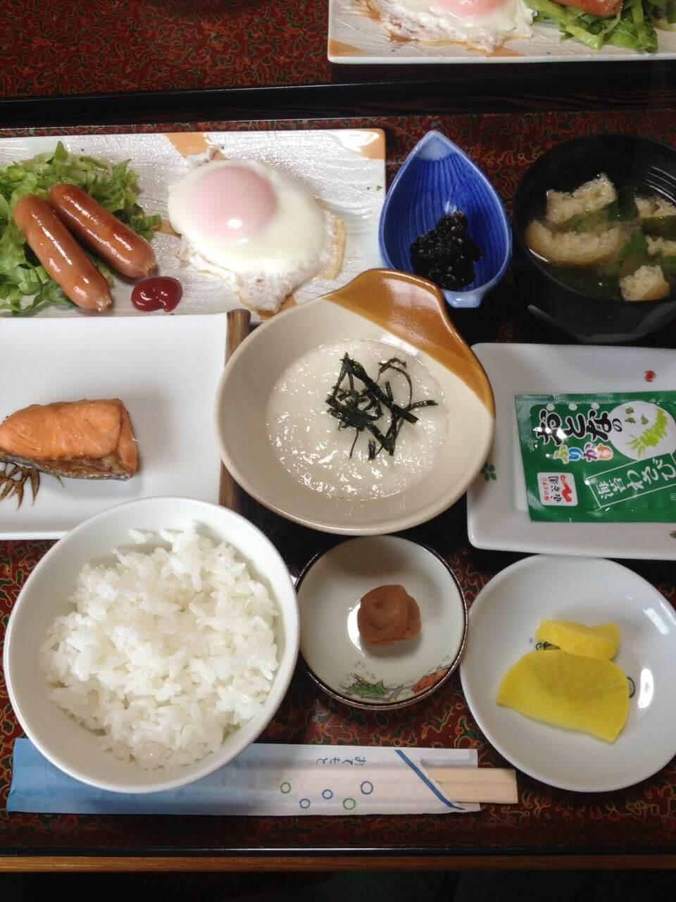 民宿栄丸3日目朝食